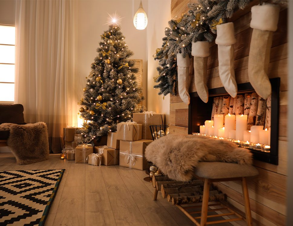 House-Cleaning-Services-Enchanting Christmas Decor Ideas-1
